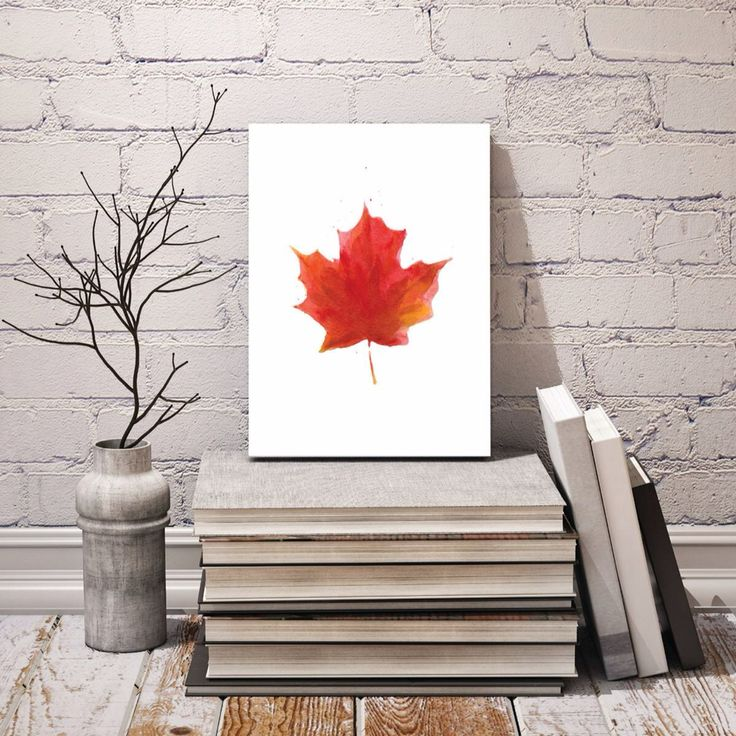 Check out Cherry Red by#katehogg along with other #canadianart at artzila.com. #art #canadianartist #artforeveryone #artzilaprints