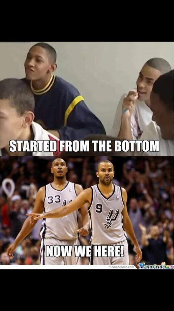 Tony Parker and Boris Diaw -- I knew they were both French, I didn't realize they were homies like that.