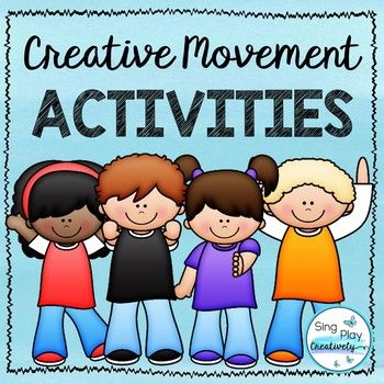 Creative movement activities and Brain breaks help students keep on learning, channel emotions and burn energy. Great for any classroom. Activity Ideas included. Perfect for Preschool, Elementary, Music, P.E. and Special Needs classrooms.