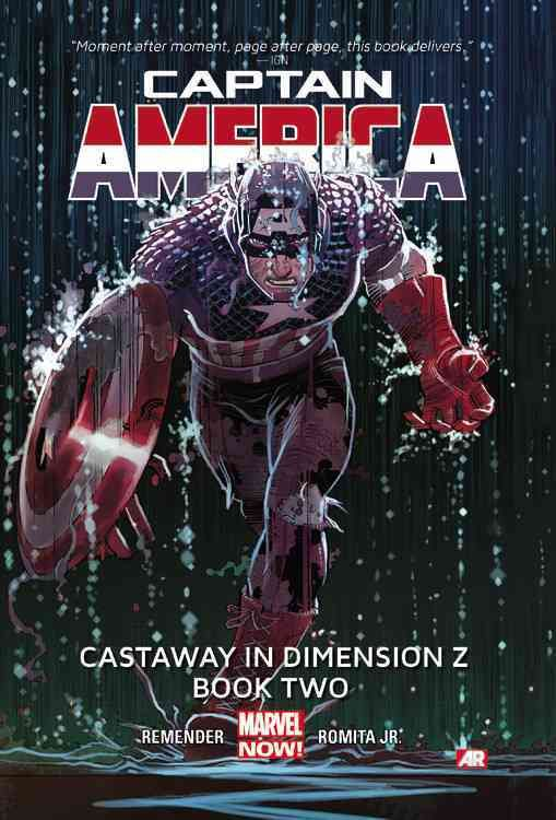 Marvel Captain America 2: Castaway in Dimension Z