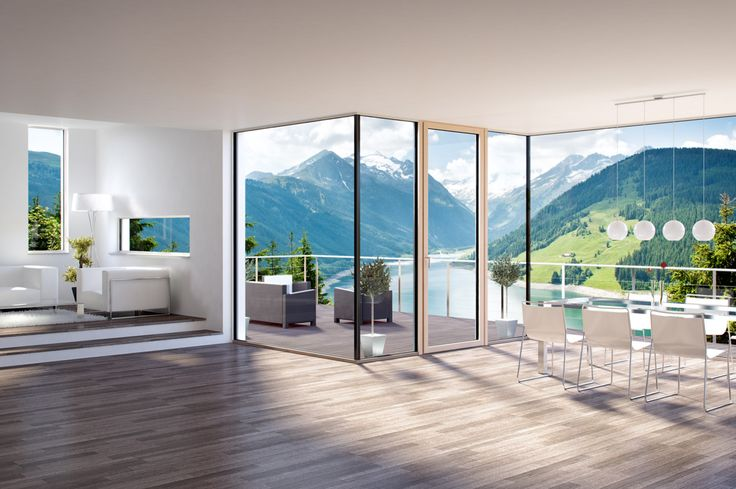 Simple efficient Scandinavian windows please - KATZBECK Windows and Doors Ltd.