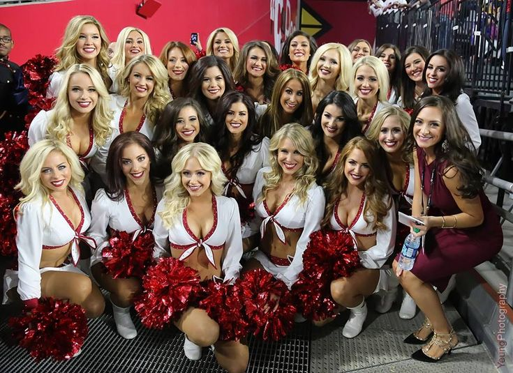 Arizona Cardinals Cheerleaders new signature uniform 2015