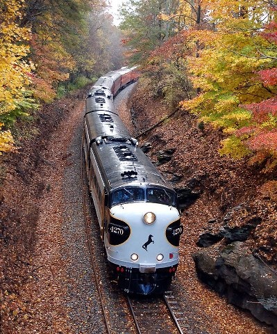 Norfolk Southern railway; train.