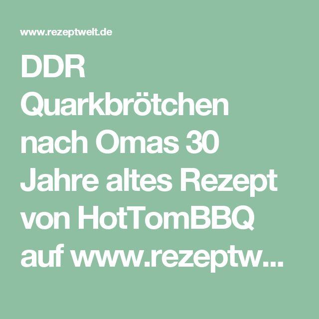 DDR Quarkbrötchen nach Omas 30 Jahre altes Rezept von HotTomBBQ auf www.rezeptwelt.de, der Thermomix ® Community