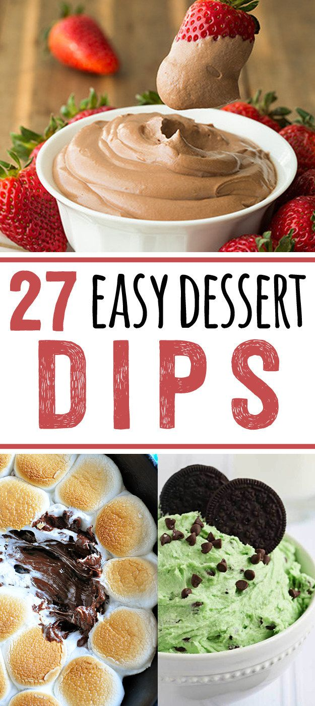 27 Easy Dessert Dips That Anyone Can Make