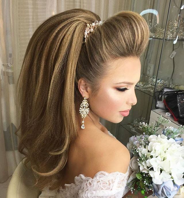 Wedding Hairstyle On Pinterest: 730 Best Images About Long Hair Ponytails On Pinterest