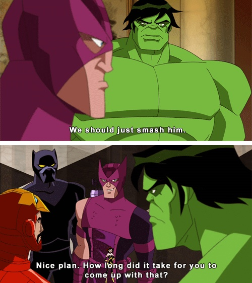 Avengers earth's mightiest heroes is so awesome!
