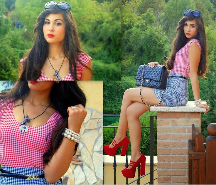 """♥ this look on whatiwear.com by VERONICA_MICIA """"CHECKERED ELEPHANT"""" http://www.whatiwear.com/look/detail/133158"""