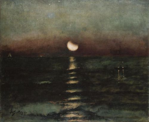 womeninarthistory:  Moonlight, Alfred Stevens