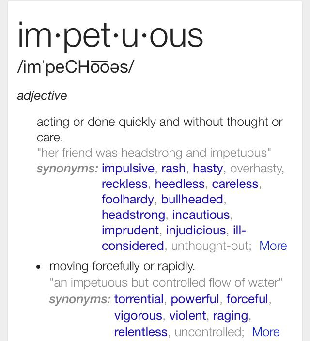 Impetuous Definition Best 25+ Fancy ...