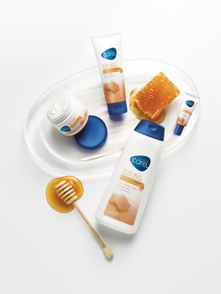 Ingrijire dulce ca mierea cu Avon Care cu laptisor de matca