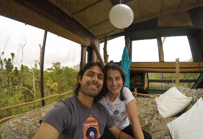 Living in HAWAII VOLCANO TREEHOUSE [the coolest house on EARTH!]