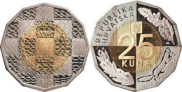 Tú eliges el diseño de la moneda de 25 Kuna 2016
