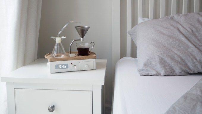 Barisieur, el despertador con cafetera que te levanta con aroma a café: ya s epuede patrocinar el proyecto en Kickstarter
