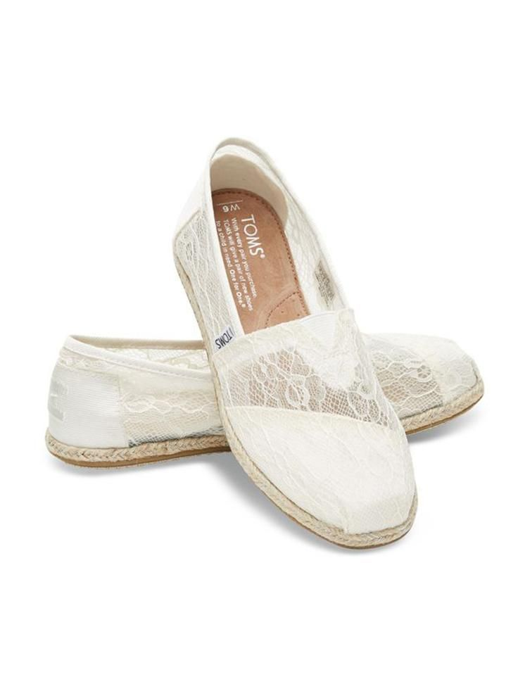 Check Shoes Of Your To List I Got You A Size These White Lace Slip Ons Are Casual Yet Ultra Great Addition Perfect Wedding Look