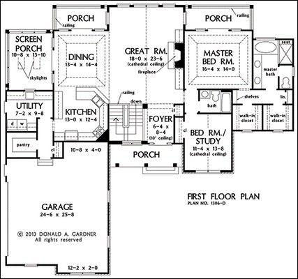 Mudroom floor plan