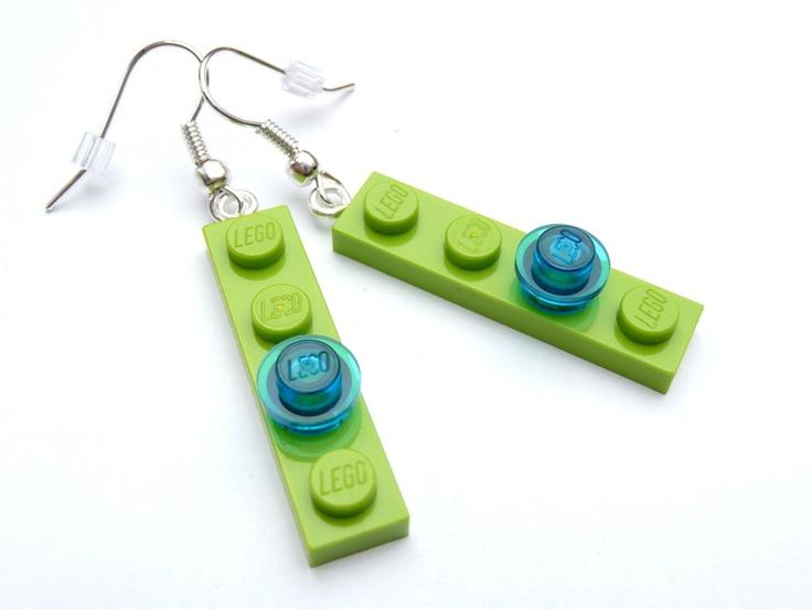 LEGO® Ohrringe - Lego Schmuck - Kinder Schmuck