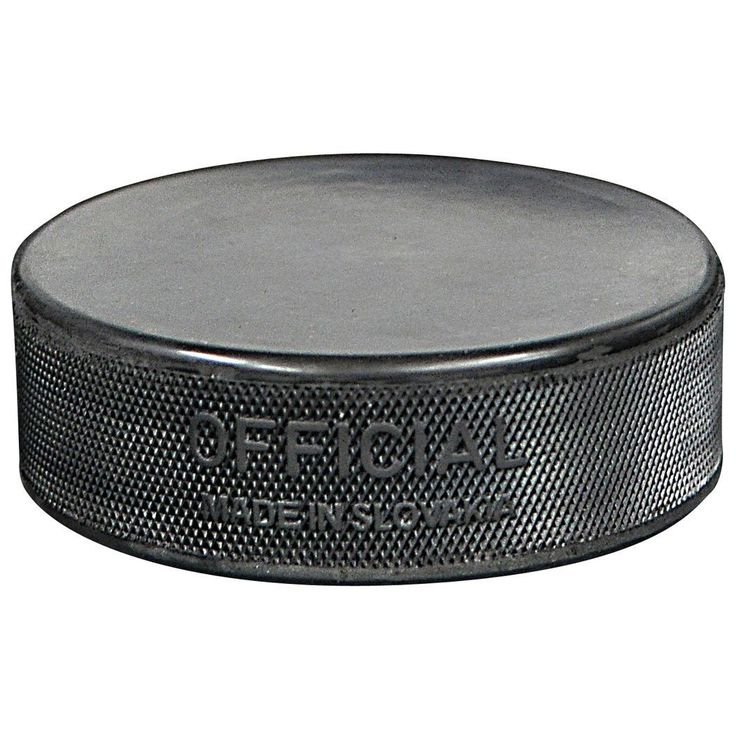 Official Black Ice Hockey Puck