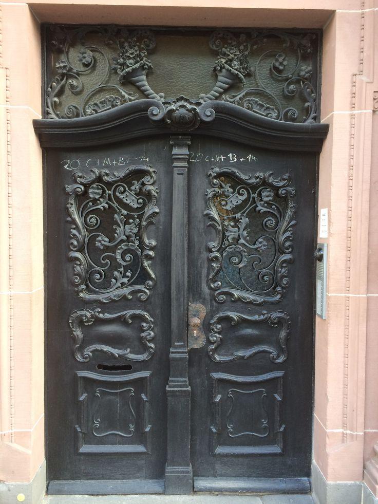 Door from the old quarter, Frankfurt