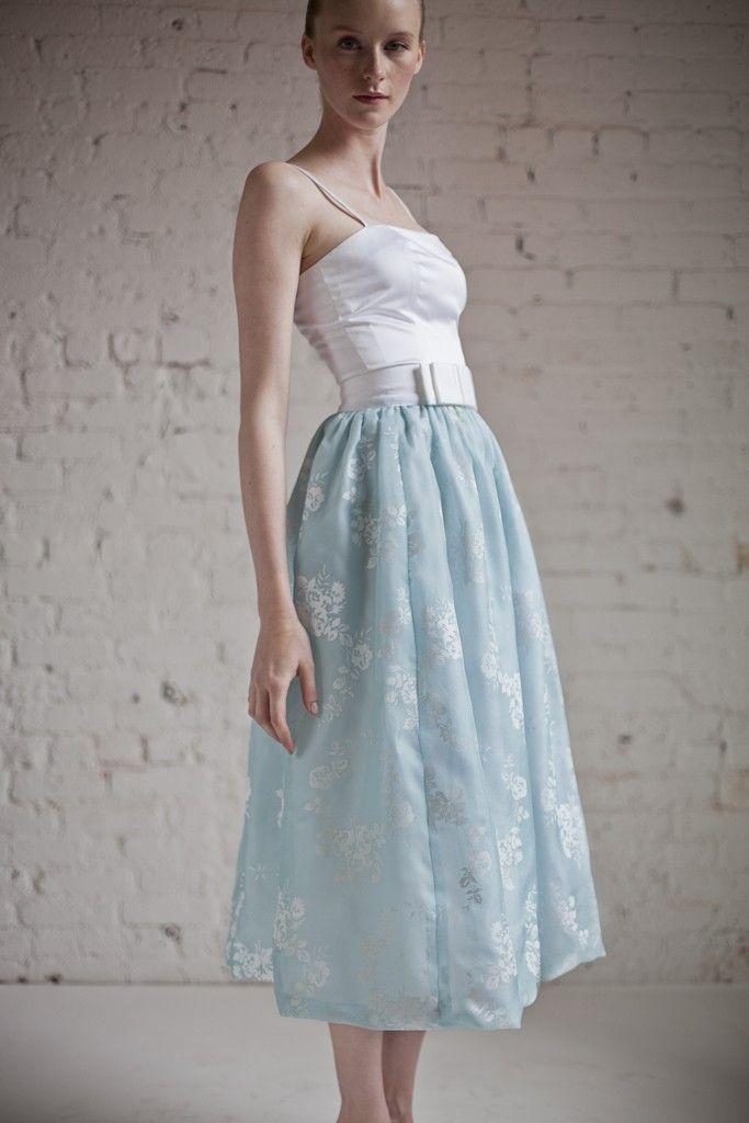Barbara Tfank Resort 2014 [Photo by Martin Crook] maxi dress #emma875 #style for women #womenfashionwww.2dayslook.com