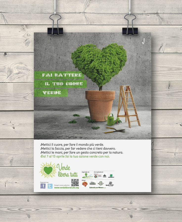 Creative Advertising / Poster / Verde Libera Tutti