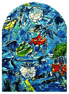 17+ best images about Marc Chagall on Pinterest | Stained ... Chagall Hadassah Windows