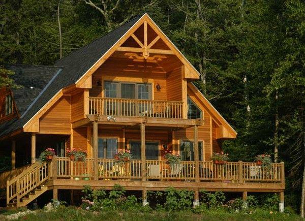 Resultado de imagen para fachadas de casas rusticas de - Casas rusticas de madera ...
