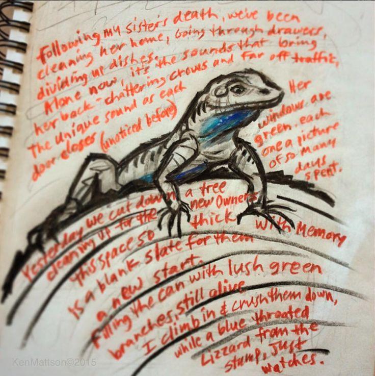 Poem for my sister. Artist: Ken Mattson