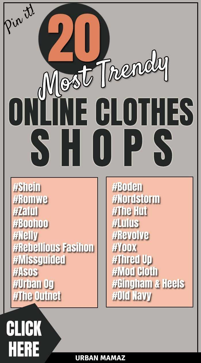 20 BEST ONLINE CLOTHES STORES Online shopping clothes
