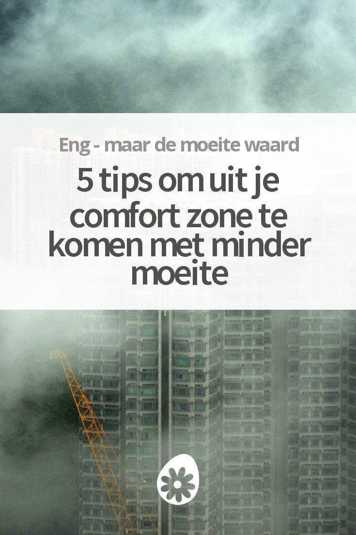 Groeien doe je buiten je comfort-zone. In dit artikel deel ik tips om dit makkelijker voor elkaar te krijgen!
