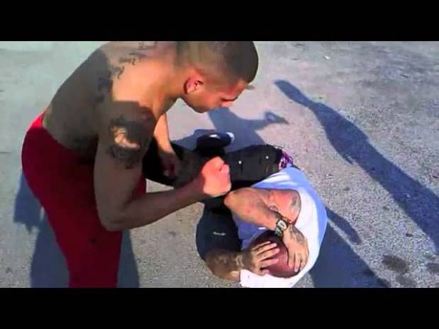 south side san antonio streetfight LUNGZ drops DEAN