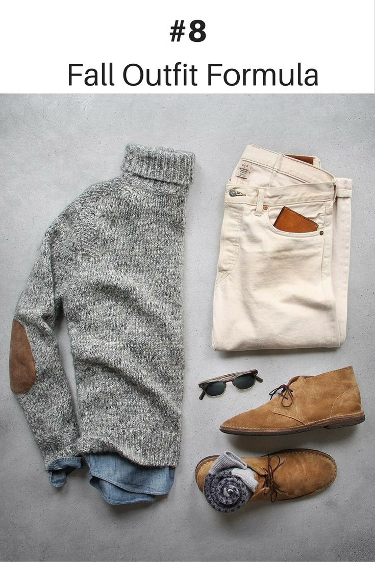 10 Coolest Outfit Formulas You Can Wear This Fall.. #mens #fashion #street… www.viraltimez.com