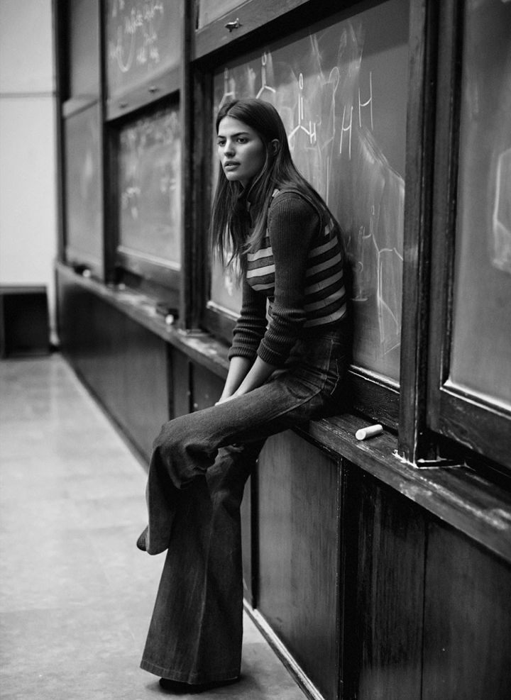 cameron russell by lachlan bailey
