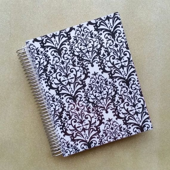 Erin Condren covers and elastic band by AJoyfulChaos on Etsy