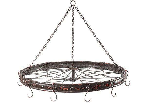 Hanging Bicycle Wheel