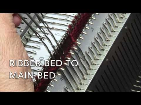 Transferring Stitches from Bed to Bed 1 - YouTube