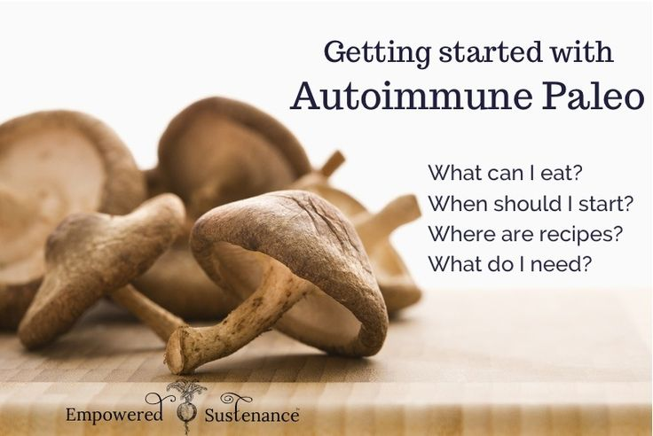 Autoimmune Paleo - how to get started