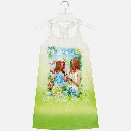 Mayoral csajos ruha.  Mayoral girly dress.  www.ckf.hu  #ckf #coolkids #kidsclothes #kidsfashion #gyerekruha #girly #csajos #mayoral #rhinestones