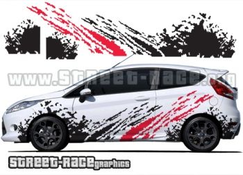 Ford Fiesta rally graphics from www.street-race.org