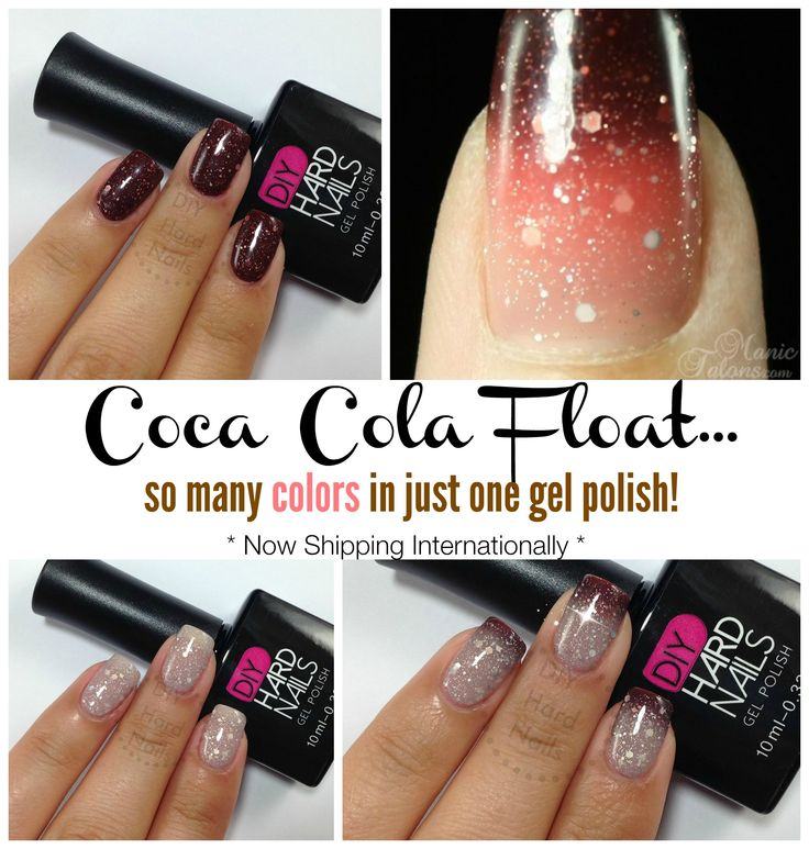 Coca Cola Float One Of The Most Loved Color Changing Gel Polish For Fall Hard Nailsfall Seasondiy