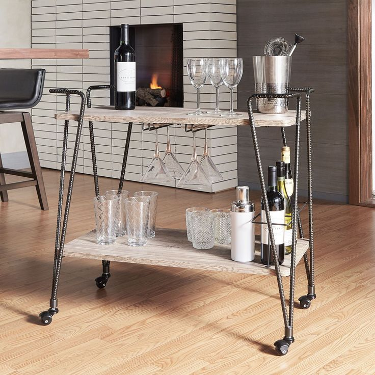 1000 ideas about mobile bar on pinterest coffee carts for Mobili bar cart