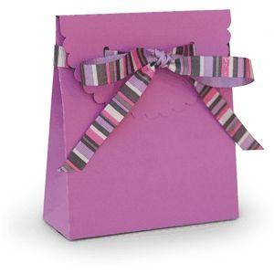 Silhouette Design Store - View Design #28755: 3d box ribbon tie scalloped flap box