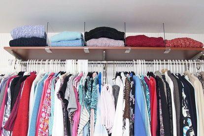 organizing the master closet 6 simple organizing tips, closet, organizing