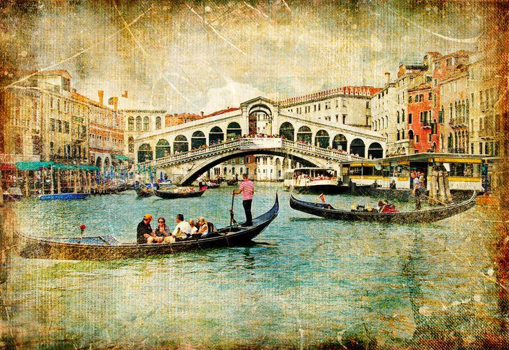 Венеция открытки, открытка для