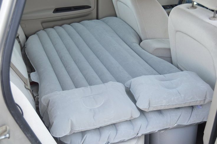 Car Air Mattress - Inflatable and Portable Travel Mattress - Amazing New Way to Sleep on the Road!