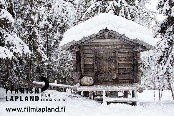 Konttaniemi Reindeer Farm in winter in Rovaniemi, Finnish Lapland. #filmlapland #finlandlapland #arcticshooting