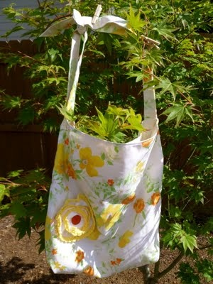 market bag tutorial - used this to make a great bag for my daughters piano books.