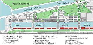 Recorrido Virtual Puerto Madero - Gruas Portuarias