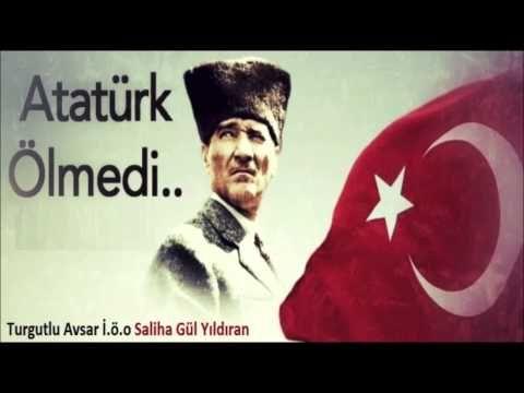 Atatürk ölmedi Yüreğimizde yaşıyor ,10 Kasım Atatürk'ü anma, Cocuk Şarkısı Dinle - YouTube
