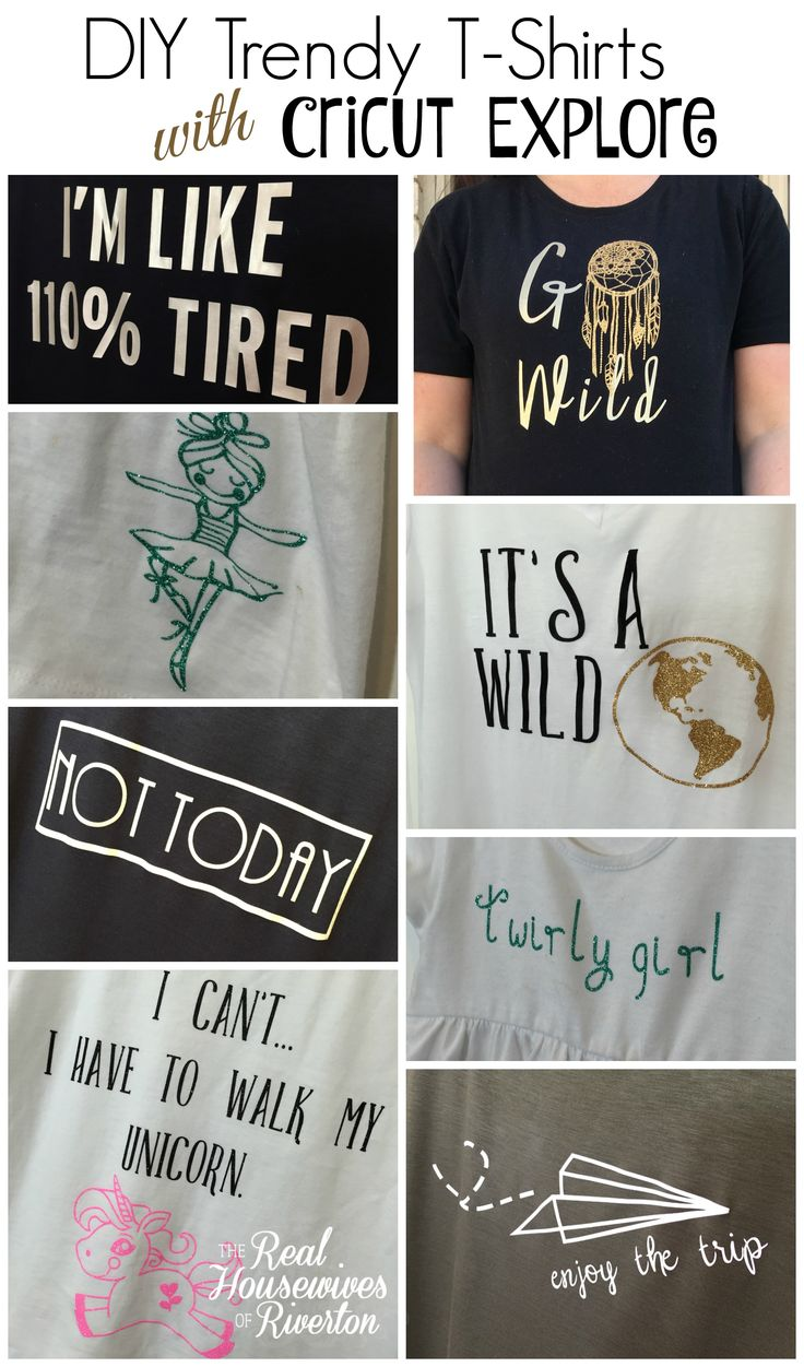 264 Best Diy T Shirt Ideas With Cricut Images On Pinterest